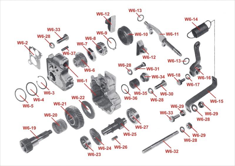 w6 getriebe schaltung f r multicar m25 sas parts s r o. Black Bedroom Furniture Sets. Home Design Ideas